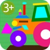 HugDug Shapes 2 - Geometry puzzles for toddlers and preschool kids full version.