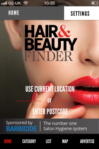 Hair and Beauty Finder screenshot 1
