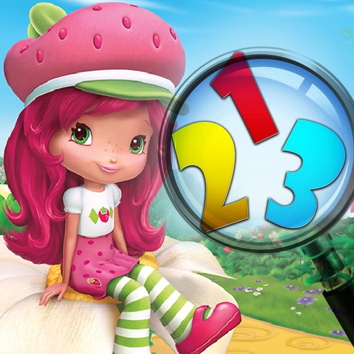 Little Girl Spot the Numbers iOS App