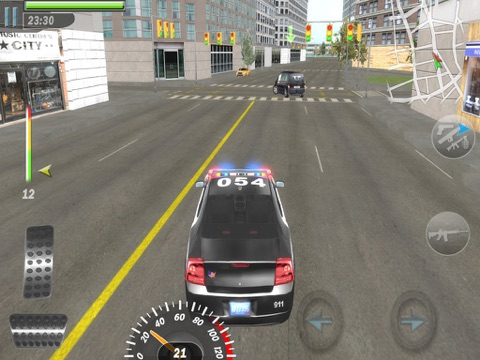 Mad Cop 3 (ads free version) на iPad