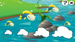 Actif! Jeu Pour Les Tout-petits Sur la Pêche: Apprendre Avec Vue Sur Mer, Eau, Poissons, Pêcheur et Canne À PêcheCapture d'écran de 1