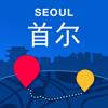 首尔离线地图-中文旅游地图.韩国旅行必备
