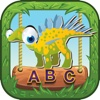 ABC Dinosaurs World Flashcards For Kids!