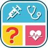Vermuten Medizinische Terminologie -Wortspiel für Ärzte und Pflegepersonal