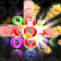Numbers Addict 2 Splash HD FREE for iPhone, iPad & iPod Touch - Bubble Puzzle Brain & Mind IQ Challenge icon