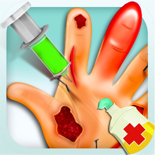 Crazy Hand Doctor - Treat Little Patients in your Dr Hospital iOS App