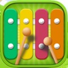 Baby Xylophone - Cute Music Game For Kids With Toddler Songs!