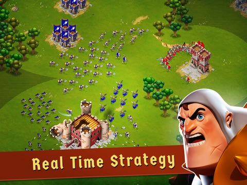 Screenshots of War of Empires : Clash of the Best by Fun Games For Free for iPad