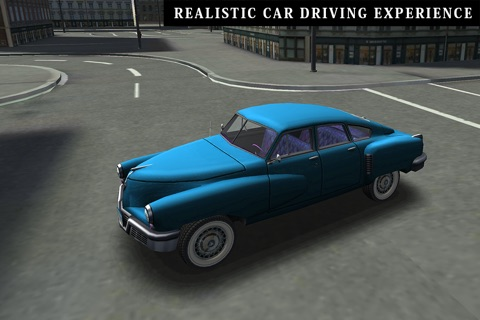 Classic Cars 3D Parking screenshot 3