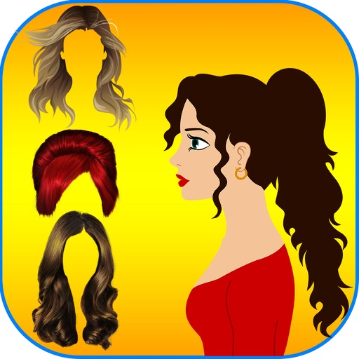 Hairstyle Makeover Booth -  The hair styles collection for xmas and halloween season iOS App