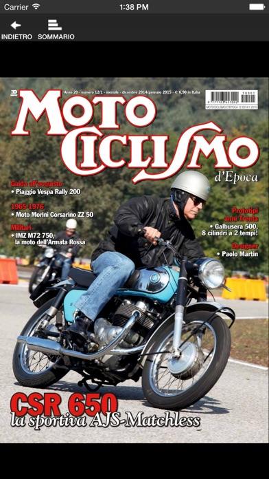 Motociclismo d'epoca screenshot1