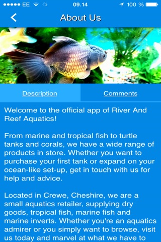 River And Reef Aquatics screenshot 2