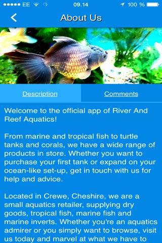 River And Reef Aquatics screenshot 2