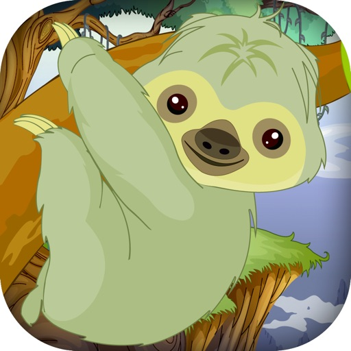 Baby Sloth Tree Climber - Jungle Survival Run - Premium iOS App