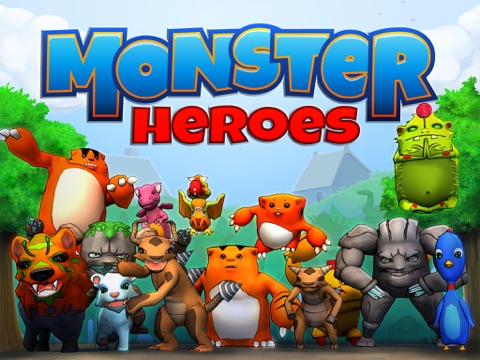 Monster Heroes-ipad-0