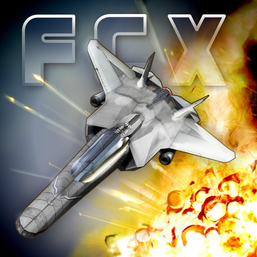 霹雳空战X破解版 Fractal Combat X无限金币版