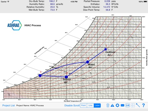 Hvac Psychrometric Chart On The App Store