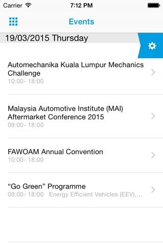 Automechanika Kuala Lumpur screenshot 3
