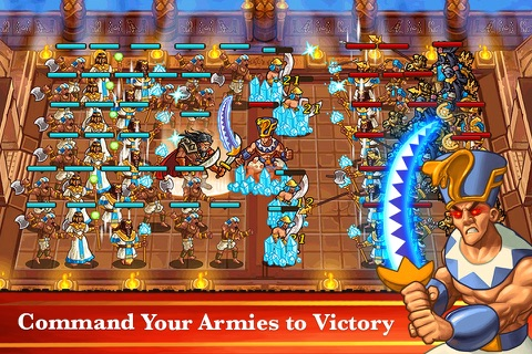 Pharaoh's War - A Strategy PVP Game screenshot 3