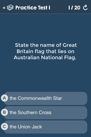 Australian Citizenship Tests screenshot 1