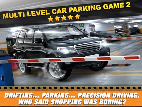 Screenshots of Multi Level 2 Car Parking Simulator Game - Real Life Driving Test Run Sim Racing Games for iPad