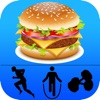 Calorie counter & Diet tracker with calories gain and burn list