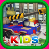 Little Crane Truck in Action Kids: 3D Fun Cartoonish Driving Adventure for Kids with Cute Graphics