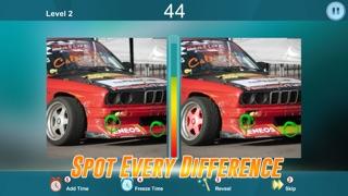 2車での写真スポットの違いゲーム - 写真のパズルゲーム - 違いは何ですか?のスクリーンショット2