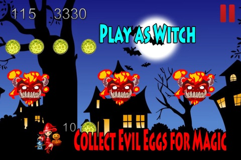 Halloween Haunted Witches in the Fantasy Style screenshot 1