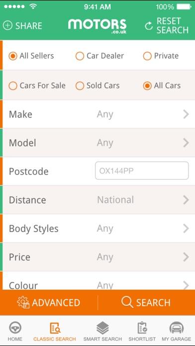 Motors.co.uk car search Скриншоты4
