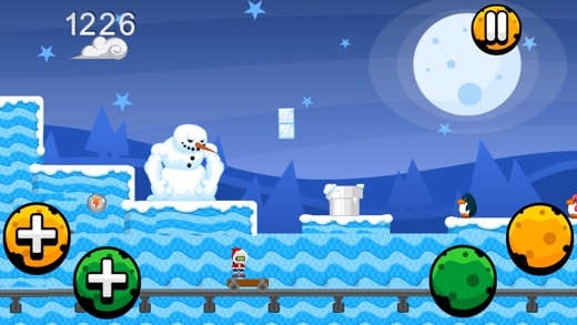 A Winters Scary Run Christmas Game on the App Store