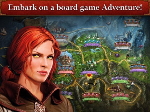 The Witcher Adventure Game на iPad