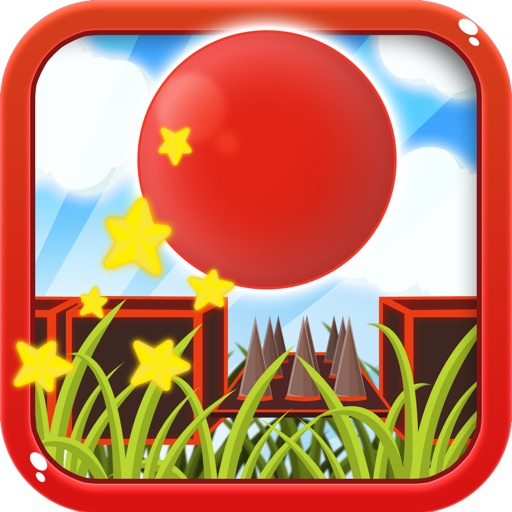 Bouncy Red Ball Fast Wipeout Pro iOS App
