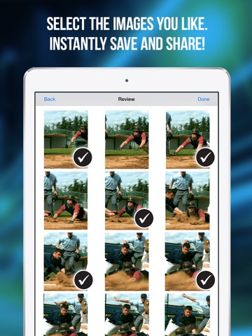 Screenshot #3 for Fast Camera - The Speed Burst, Stealth Cam, 4K Time Lapse Video, Photo Sharing & Stop Motion Photos App
