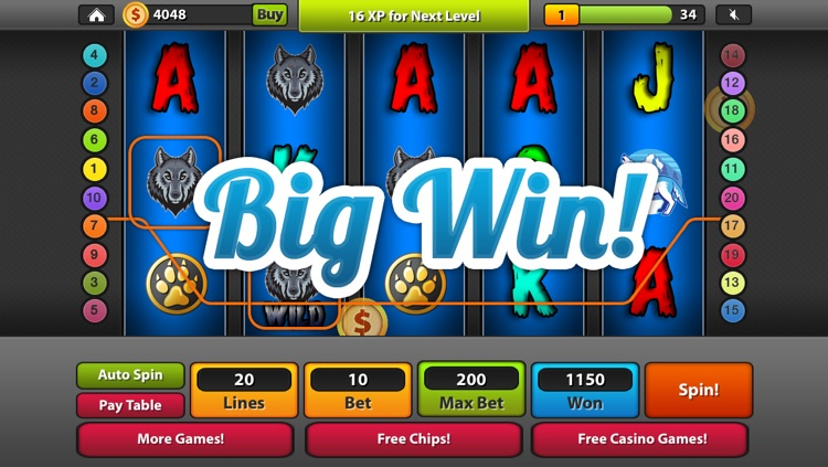 Wild Wolf Slot Machines Lucky Moon Run Journey Casino By Thierry Yansounou