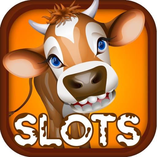 Laughing Cow Farm Slot-s Casino Fun Jackpot-joy Machine Pro iOS App