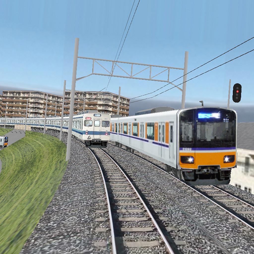 Train Drive ATS ?他列車もダイヤ通り動く電車運転ゲーム