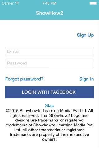 Showhow2 for  HP DeskJet 2060 screenshot 1