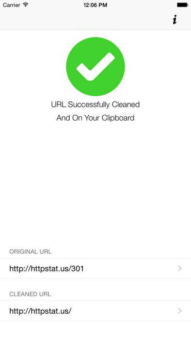 Clean Links Screenshot