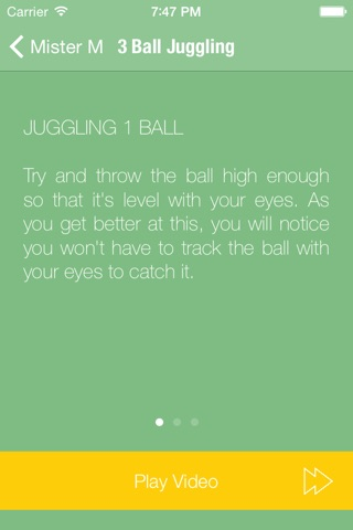 Juggling with Mister M screenshot 2