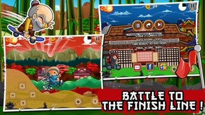 Ninja боевой Выполнить гоночный издание (Ninja Combat Dash Racing Edition) - Бесплатный самурай воин дорога ралли велосипед, автомобиль и скейтборд гонкиСкриншоты 5