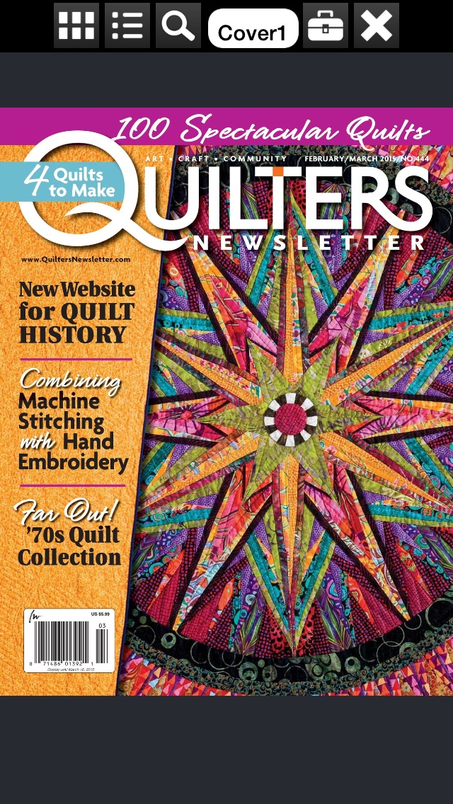 Quilters Newsletter Magazine review screenshots