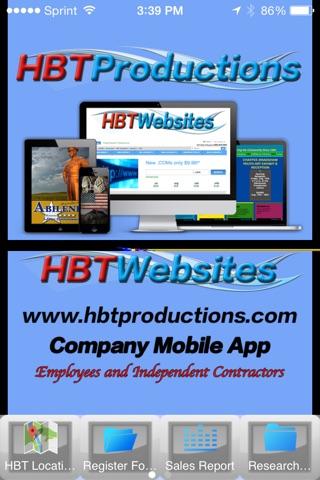 HBT Productions Company App screenshot 1