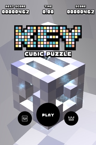 KEY - 3D Cubic Puzzle screenshot 1