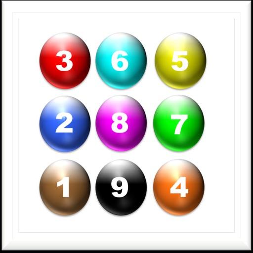 Number Balls Game iOS App