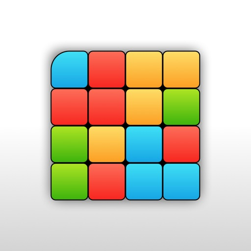 Flood Game : a color logic puzzle iOS App