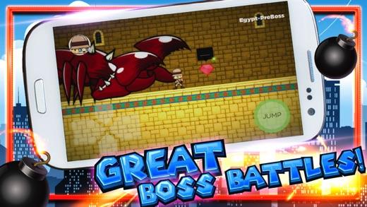 Runaway Hero - Dangerous Running Screenshot