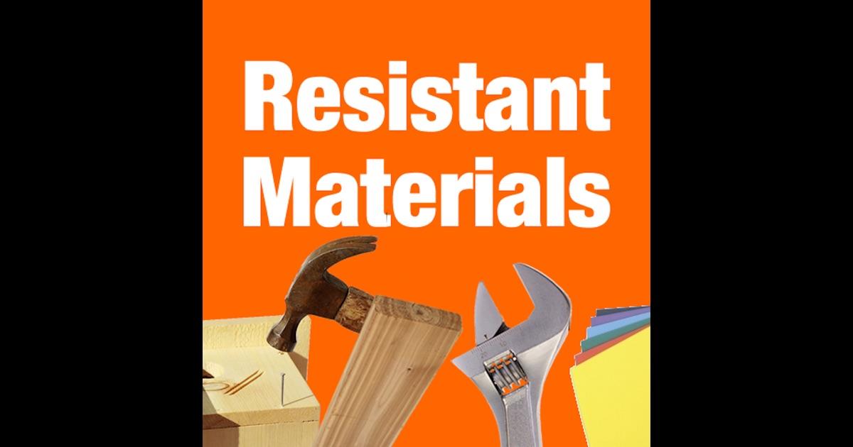 Design technology resistant materials coursework