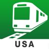 Estados Unidos Transit - Aplicación de tránsito para metro, vuelos y trenes by NAVITIME