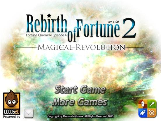 Rebirth of Fortune 2 на iPad